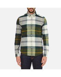 Barbour | Green Men's Johnny Original Tartan Long Sleeve Shirt for Men | Lyst