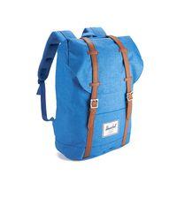 Herschel Supply Co. | Blue Herschel Retreat Crosshatch Backpack | Lyst