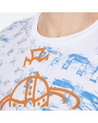 Vivienne Westwood | White Men's Manhole Rubbings Tshirt for Men | Lyst