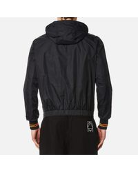 McQ - Black Men's Hooded Blouson Jacket for Men - Lyst
