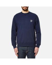 Penfield   Blue Men's Redlands Crew Neck Sweatshirt for Men   Lyst
