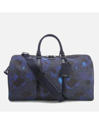 029adcf86b85 Lyst - Michael Kors Men's Jet Set Travel Large Duffle Bag in Blue ...