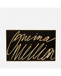 Lulu Guinness - Black Olivia One In A Million Clutch Bag  - Lyst