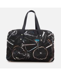 Paul Smith - Black Men's Bicycle Print 24 Hour Bag for Men - Lyst