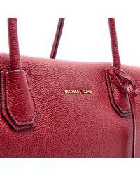 MICHAEL Michael Kors - Red Women's Mercer Large Satchel - Lyst