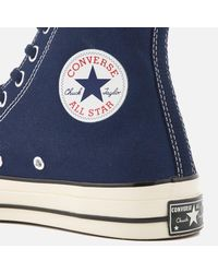 Converse | Blue Men's Chuck Taylor All Star '70 Hitop Trainers for Men | Lyst