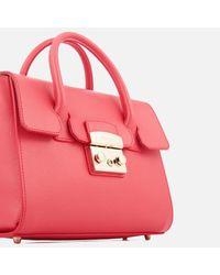 Furla | Pink Women's Metropolis Small Satchel Bag | Lyst