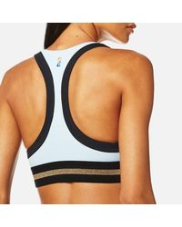P.E Nation - Blue Women's The Volley Crop Top - Lyst