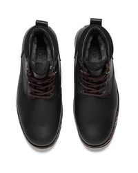 Ugg - Black Men's Seton Tl Waterproof Leather Lace Up Boots for Men - Lyst