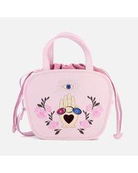 Meli Melo - Pink Women's Rosetta Cross Body Bag - Lyst