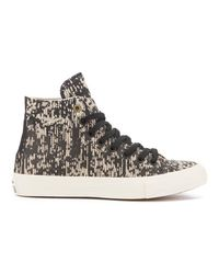 Converse - Black Men's Chuck Taylor All Star Ii Translucent Rubber Hitop Trainers for Men - Lyst