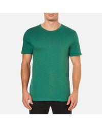 T By Alexander Wang - Green Men's Classic Pima Cotton Tshirt for Men - Lyst