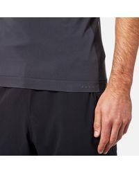 Falke - Black Ergonomic Sport System Men's Short Sleeve Performance Tshirt for Men - Lyst