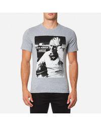 Barbour - Gray Men's Close Up Tshirt for Men - Lyst