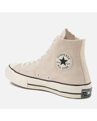 Converse - Natural Men's Chuck Taylor All Star 70 Hitop Trainers for Men - Lyst