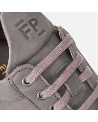Filling Pieces - Gray Men's Ghost Lane Leather Low Top Trainers for Men - Lyst