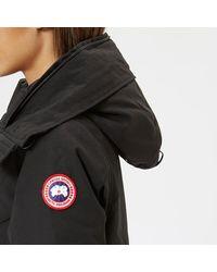 Canada Goose - Black Women's Rossclair Parka - Lyst