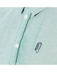 Carven - Blue Men's Long Sleeve Shirt for Men - Lyst