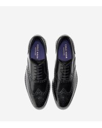 Cole Haan | Black Hamilton Grand Wingtip Oxford for Men | Lyst