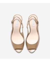 Cole Haan - Multicolor Bethany Open Toe Sling (85mm) - Lyst