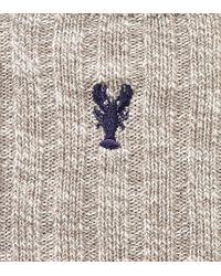 Cole Haan - Multicolor Pinch Cotton Rag Crew Sock for Men - Lyst