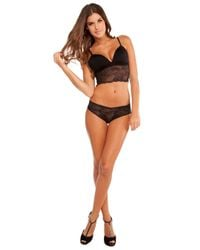 Cosabella | Blue Trentatm Lowrider Lace Thong | Lyst