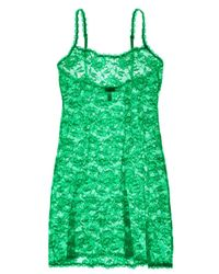 Cosabella - Green Never Say Never Foxie Lace Chemise - Lyst