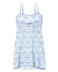 Cosabella - Blue Never Say Never Foxie™ Lace Chemise - Lyst