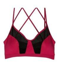 Cosabella | Pink Triathlon Sports Bralette | Lyst