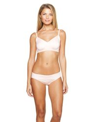 Cosabella | Pink 'never Say Never' Racerback Bralette | Lyst