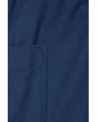 COS Blue Patch Pocket Twill Trousers