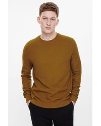 COS - Multicolor Jacquard Knit Jumper for Men - Lyst