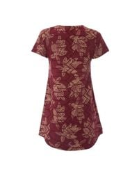 White Stuff - Red Mila Broderie Jersey Womens Tunic - Lyst