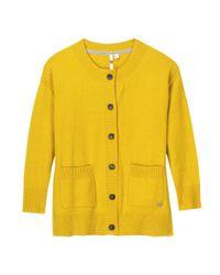 White Stuff - Yellow Camomile Womens Cardigan - Lyst