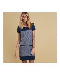 Barbour - Blue Saltburn Womens Dress - Lyst