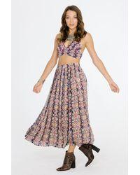 Raga - Multicolor Mumbai Maxi Skirt - Lyst