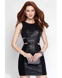 Alyce Paris - 4448 Short Dress In Black - Lyst