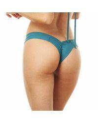 Montce Swim - Blue Emerald Meija Solo Top X Uno Bottom Bikini - Lyst