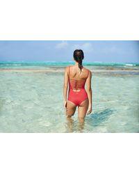 Malai Swimwear - Red Cherry One Piece Op - Lyst