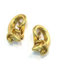 Elizabeth Cole - Metallic Radnor Earrings - Lyst