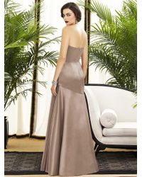 Dessy Collection - Multicolor 2876 Dress In Topaz - Lyst