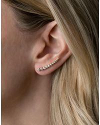 Rachael Ryen - Metallic Graduated Curved Ear Pin - Lyst