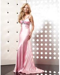 Jasz Couture - 4358 Dress In Pink - Lyst