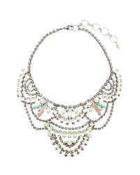 Elizabeth Cole | Multicolor Stephanie Necklace | Lyst