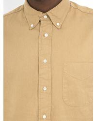 Gitman Brothers Vintage Natural Usn Twill Shirt for men