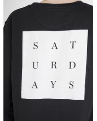 Saturdays NYC - Multicolor Bowery Saturdays Grid Sweater for Men - Lyst