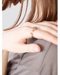 Open House - Multicolor Question Mark Ring - Lyst