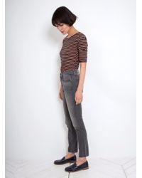 GRLFRND - Gray Karolina High-rise Skinny Jean - Lyst