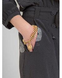 Maison Mayle - Metallic Kusama Charm Bracelet - Lyst