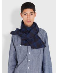 Engineered Garments - Multicolor Long Scarf Plaid Flannel for Men - Lyst